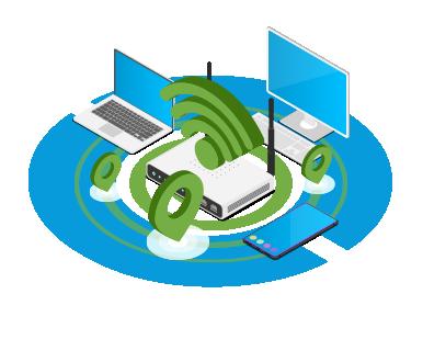 Implantation et optimisation de couverture Wifi